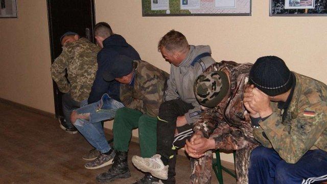 На Буковині затримали групу контрабандистів цигарок