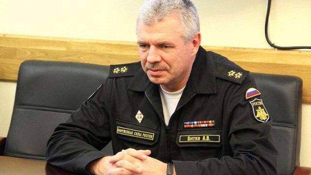 Військова прокуратура вручила підозру командувачу Чорноморського флоту РФ
