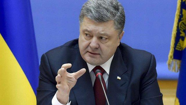 Порошенко закликав мешканців Запоріжжя «розпеченим залізом випалювати сепаратизм»