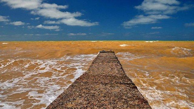 Біля кримських берегів несподівано пожовтіло Чорне море