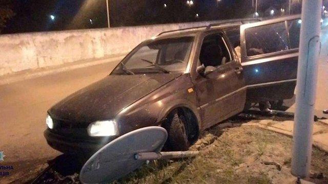 Вночі у Львові стались три ДТП за участю п'яних водіїв