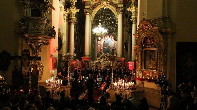 У соборі святого Юра у Львові відбулась містерія «Страсті Христові»