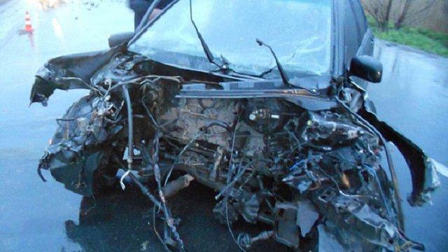 Внаслідок ДТП в Золочеві постраждали двоє водіїв