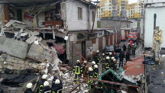 У Києві вибухнув гараж, внаслідок чого загинув чоловік