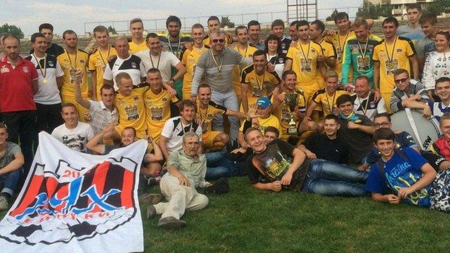Винниківський «Рух» виступатиме у другій лізі чемпіонату України