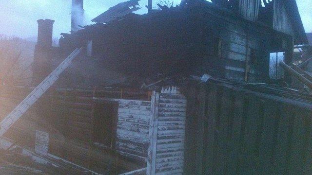 На Львівщині під час пожежі у будинку загинув 44-річний чоловік