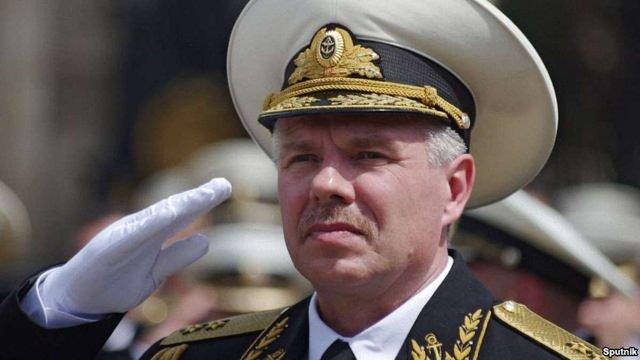 Командувача Чорноморського флоту РФ оголосили у розшук