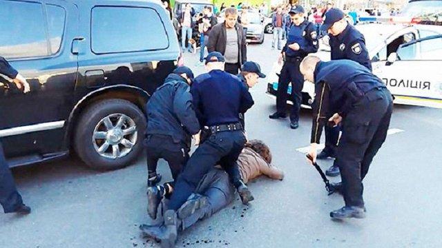 У Києві олімпійський чемпіон з греко-римської боротьби влаштував бійку з поліцейськими