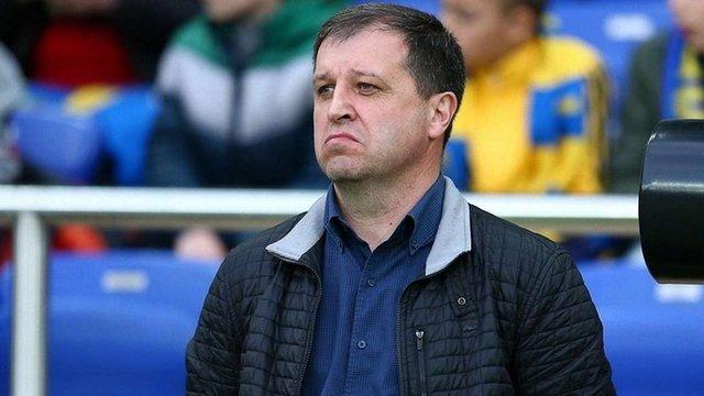 Тренер Юрій Вернидуб продовжив контракт із луганською «Зорею»
