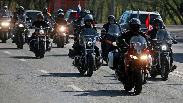 Путінські байкери в'їхали до ЄС через Словаччину