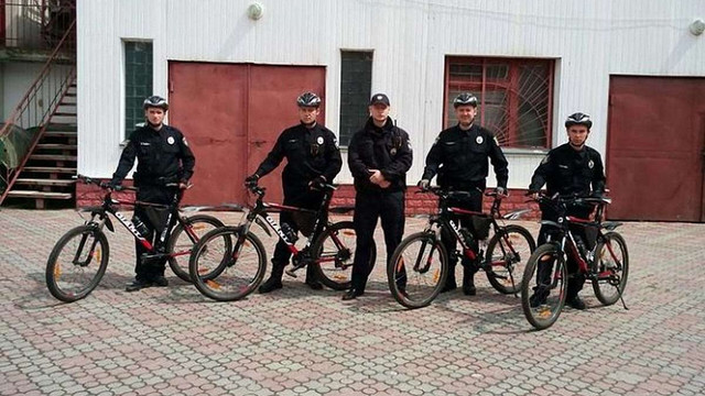 У Тернополі з'явився поліцейський велопатруль