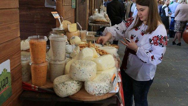 У Львові відкрився перший еко-ярмарок фермерських продуктів
