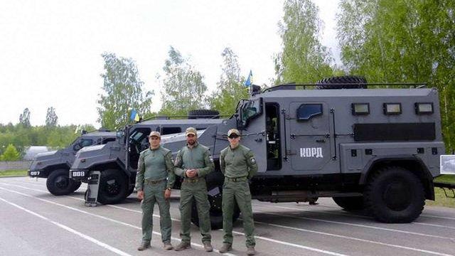 Спецназ КОРД отримав новий бронеавтомобіль «Варта»