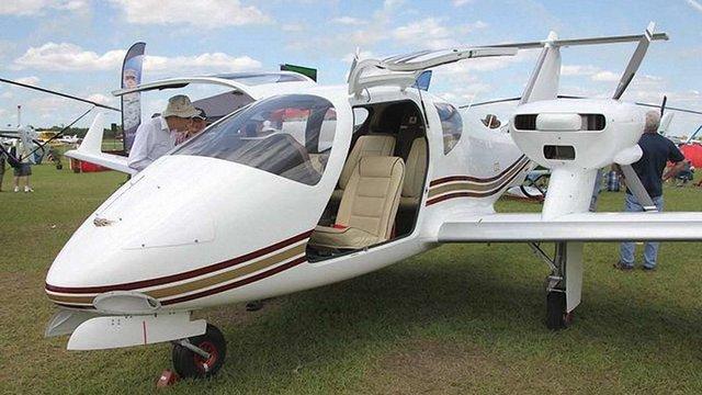 На авіашоу у США презентували український літак V24