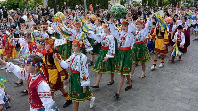 До Дня міста у Львові пройшла кількатисячна святкова хода