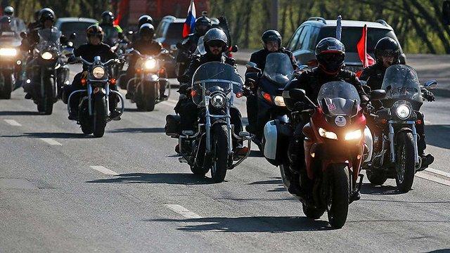 Один з путінських байкерів «Нічні вовки» їздить з львівськими номерами