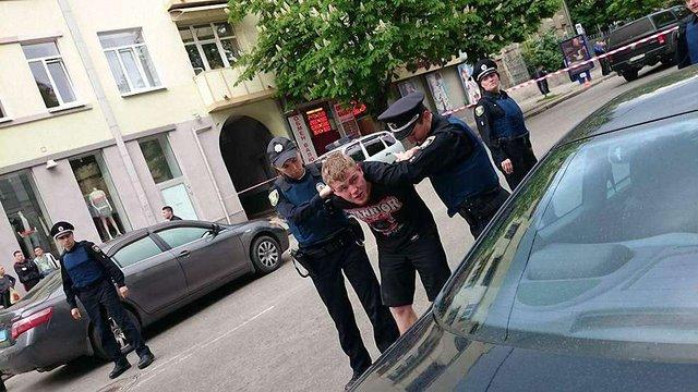 У Харкові під час бійки поранили патрульного поліцейського