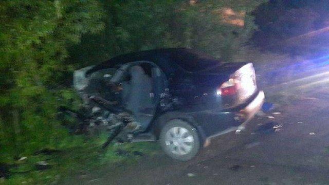 На Львівщині зіткнулися BMW X5 та Lanos: один загиблий і троє травмованих
