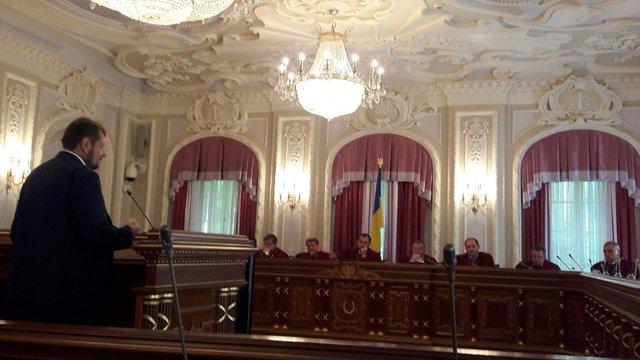 Верховний суд визнав незаконним зняття недоторканності з Мосійчука
