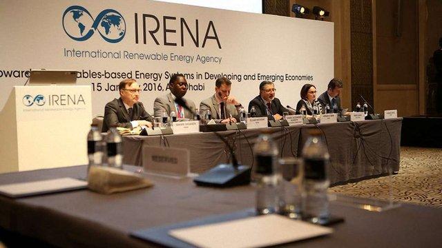 Україна подасть заявку на членство у Міжнародному агентстві з відновлювальних джерел енергії