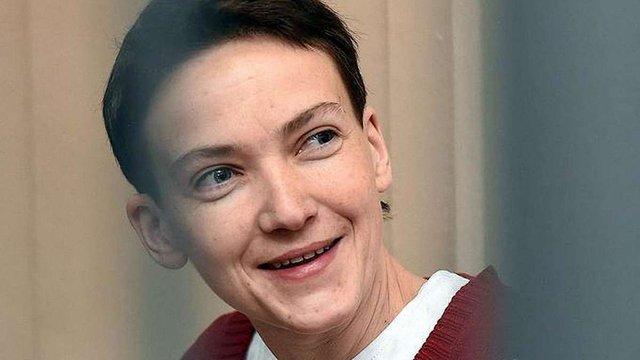 Порошенко привітав Надію Савченко із 35-річчям