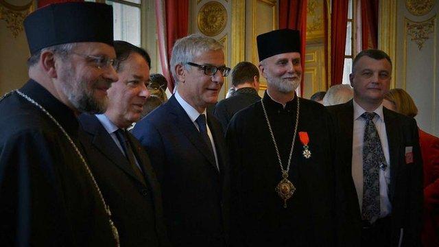Єпископ УГКЦ Борис Гудзяк отримав найвищий орден Франції