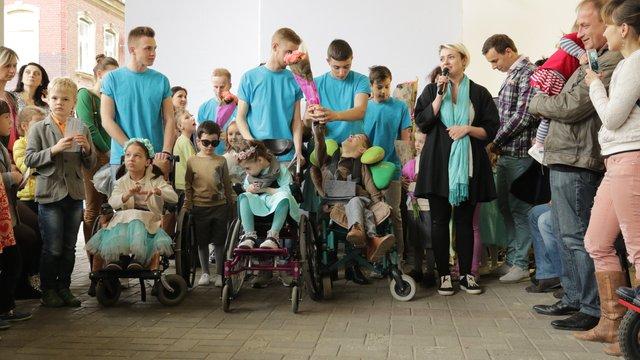 У Львові вперше в Україні відбувся показ мод для дітей із особливими потребами
