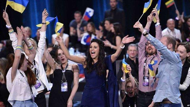 Джамала перемогла на «Євробаченні»