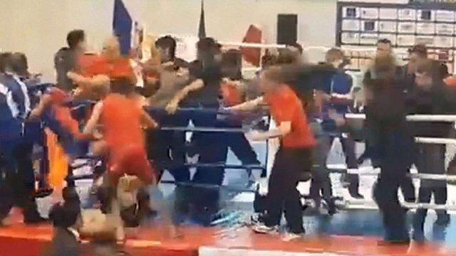 У Львові на чемпіонаті Європи з кунг-фу сталась масштабна  бійка