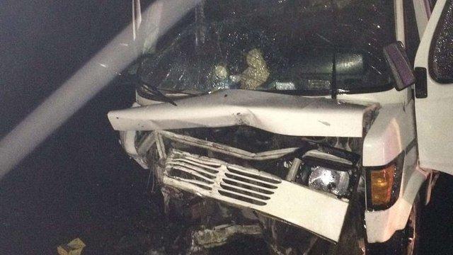 В аварії на трасі Київ-Чоп постраждали п'ятеро людей