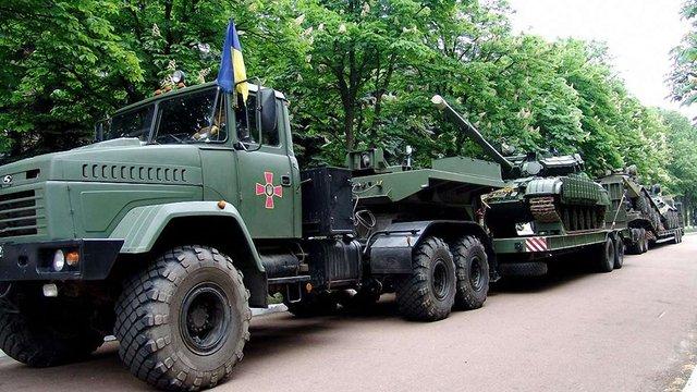 Нацгвардія отримала шість БТР українського виробництва