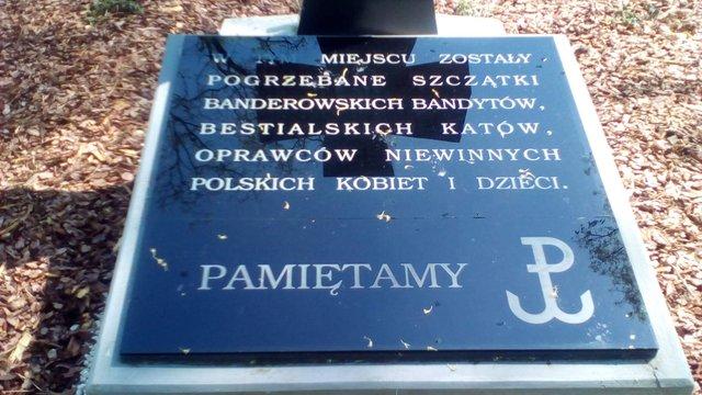 У Польщі вандали вчинили провокацію на українському військовому кладовищі