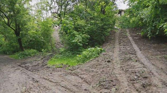 Забудовника змусять відновити пошкоджений ландшафт парку «Горіховий гай»