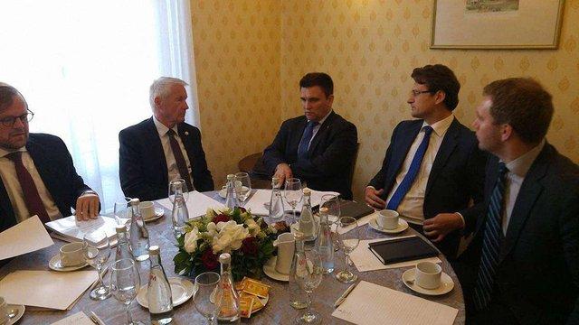Павло Клімкін обговорив з генсеком Ради Європи звільнення політв'язнів