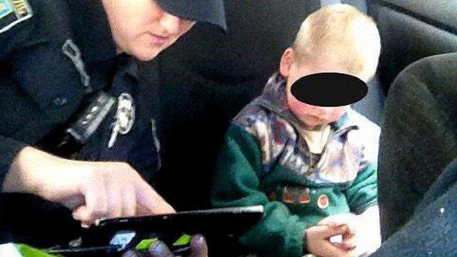 У Львові посеред вулиці знайшли 4-річного хлопчика без дорослих