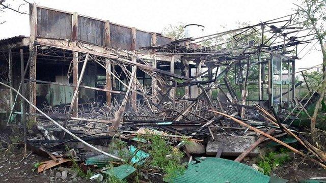 Озброєні люди захопили і спалили дві бази відпочинку Держгеонадр у Затоці