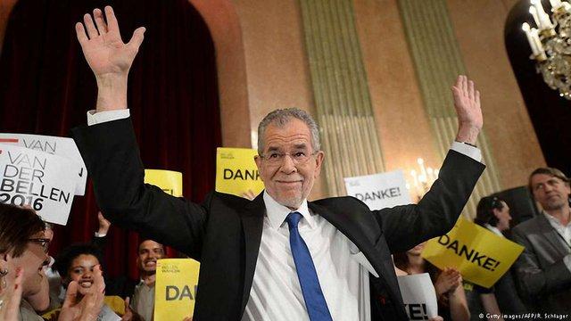 На президентських виборах в Австрії переміг «зелений»