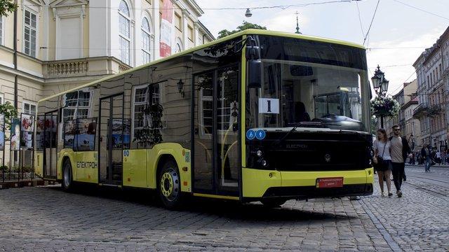 Львів отримав перші автобуси «Електрон»