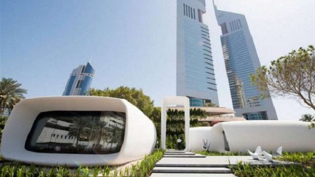 У Дубаї відкрили першу у світі будівлю, надруковану на 3D-принтері