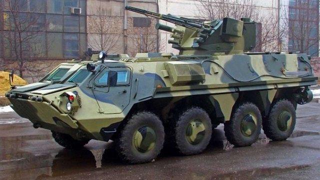 Новітні БТР для української армії виготовлятимуть у Житомирі