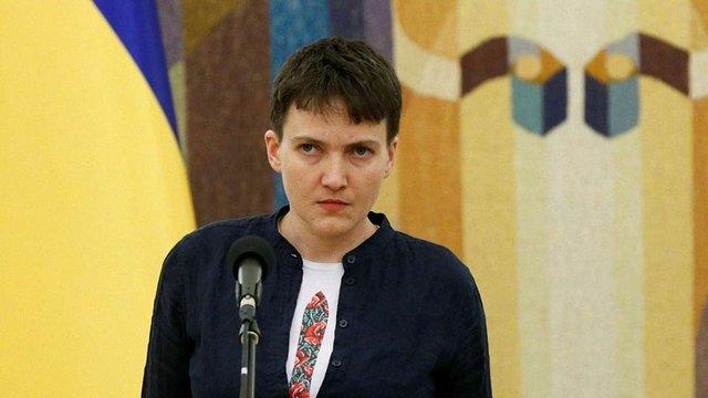 Надія Савченко оголосила про готовність стати президентом України