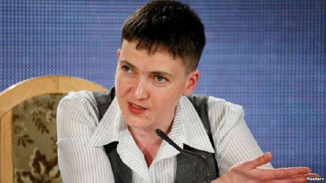 Надія Савченко розповіла, чим займатиметься у Верховній Раді