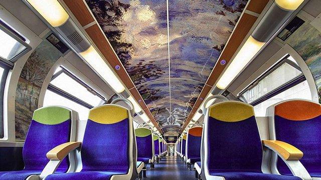 У Франції поїзди прикрасили репродукціями живописців-імпресіоністів