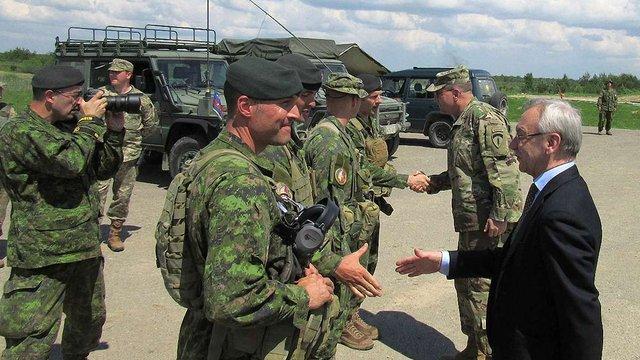 На Львівщині з дводенним візитом перебуває керівництво армії США в Європі
