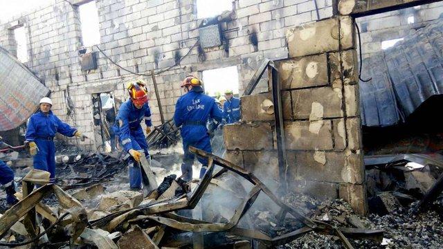 Пожежу в будинку для літніх, в якій загинуло 17 осіб, визнано НП державного значення