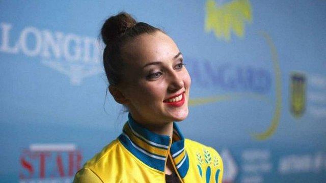 Українcька спортсменка виграла «золото» на етапі Кубка світу з художньої гімнастики
