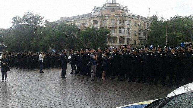 У Маріуполі розпочала роботу патрульна поліція