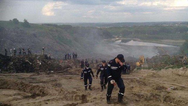 Через обвал на Грибовицькому сміттєзвалищі відкрили кримінальне провадження