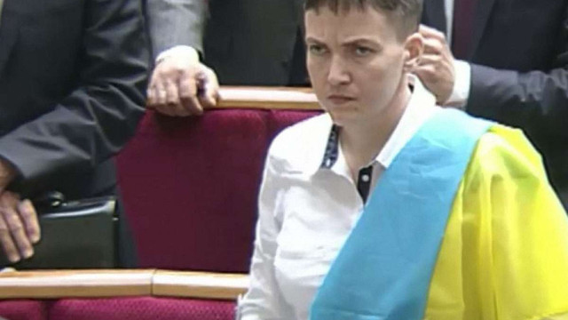 Надія Савченко закликала нардепів працювати на звільнення в'язнів Кремля