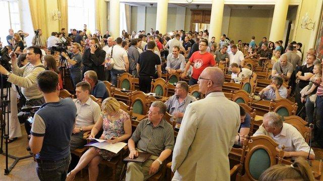 Львівська міськрада не підтримала ухвалу про недовіру Садовому